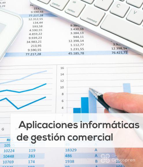 Aplicaciones informáticas de gestión comercial (UF0351)
