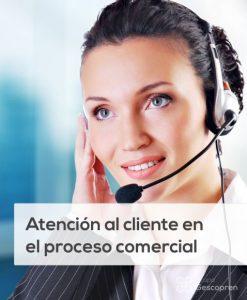 Atención al cliente en el proceso comercial (UF0349)